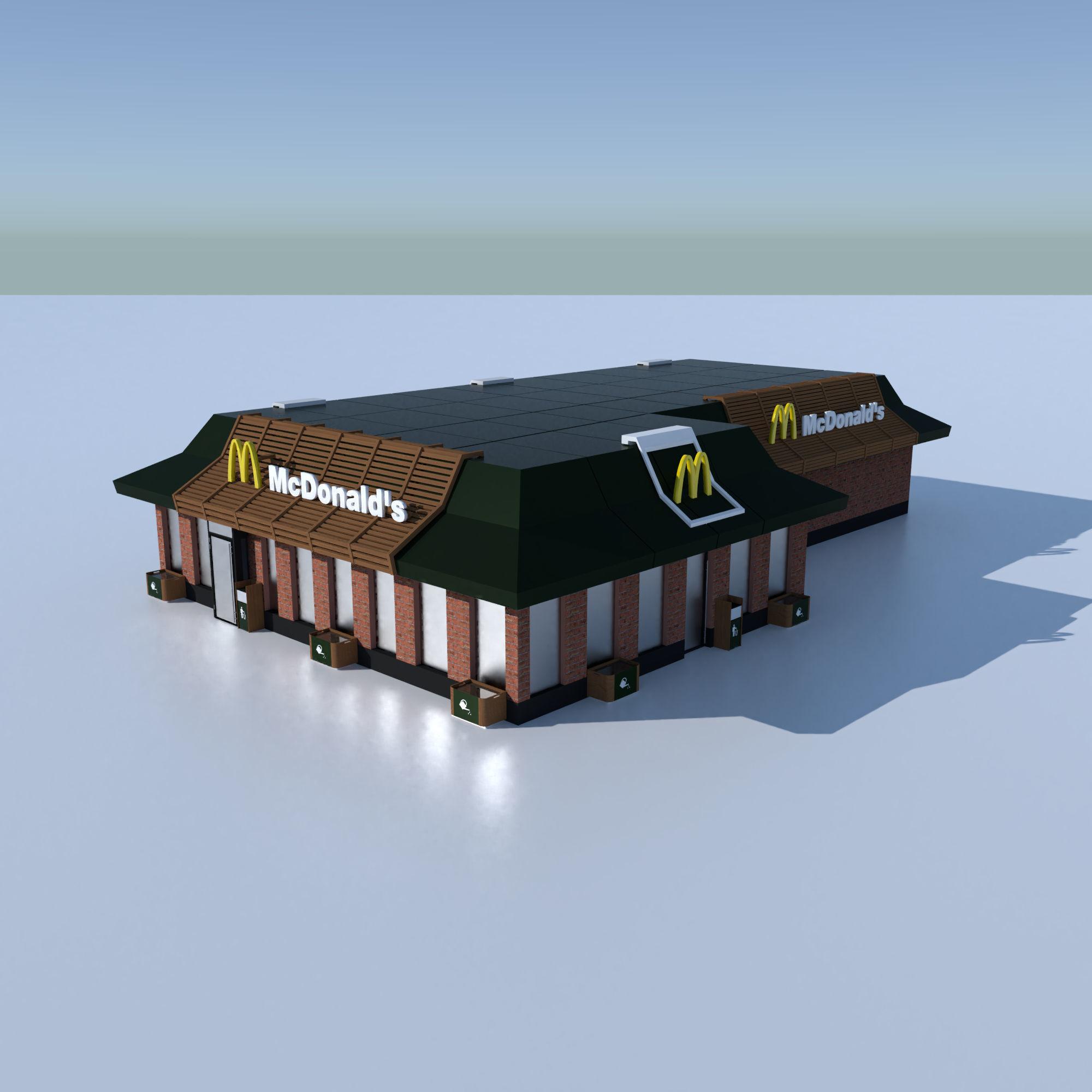 McDonalds Restourant 3D model