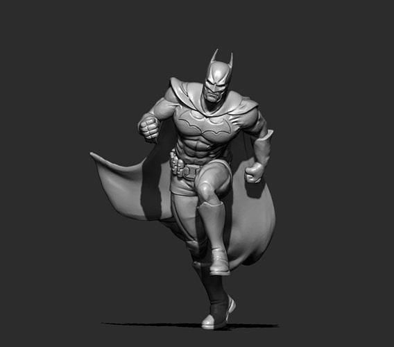 batman 3d print model 3d model stl 1
