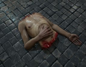 3D model Mutilated Corpses