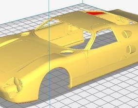 Facel Vega Le Mans 1965 Printable Body Car
