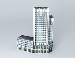 Wuhan City Finance Bureau 3D Model