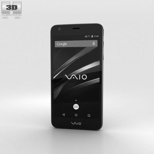 vaio phone 3d model max obj mtl 3ds fbx c4d lwo lw lws 1