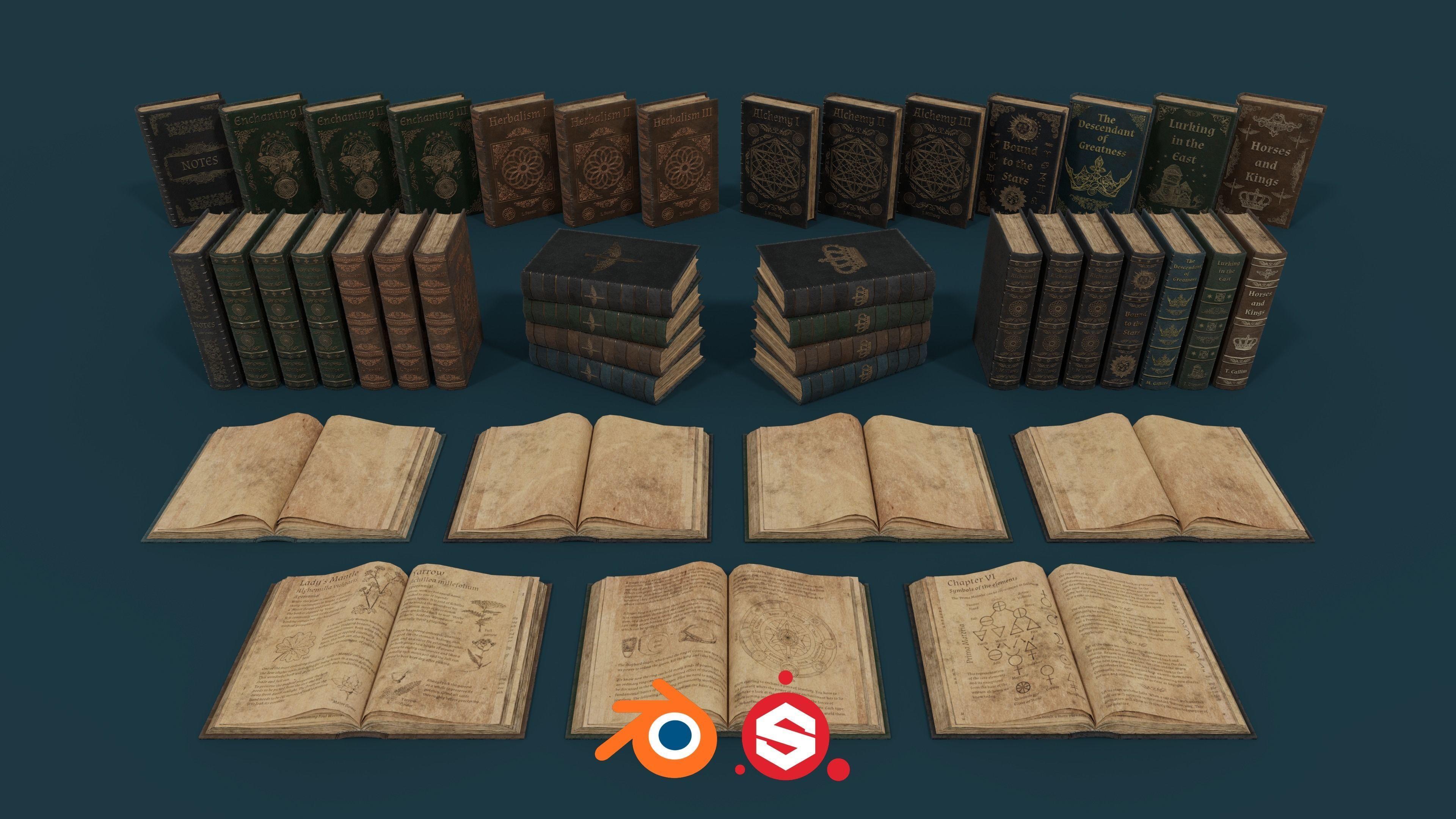 Medieval Books PBR 1