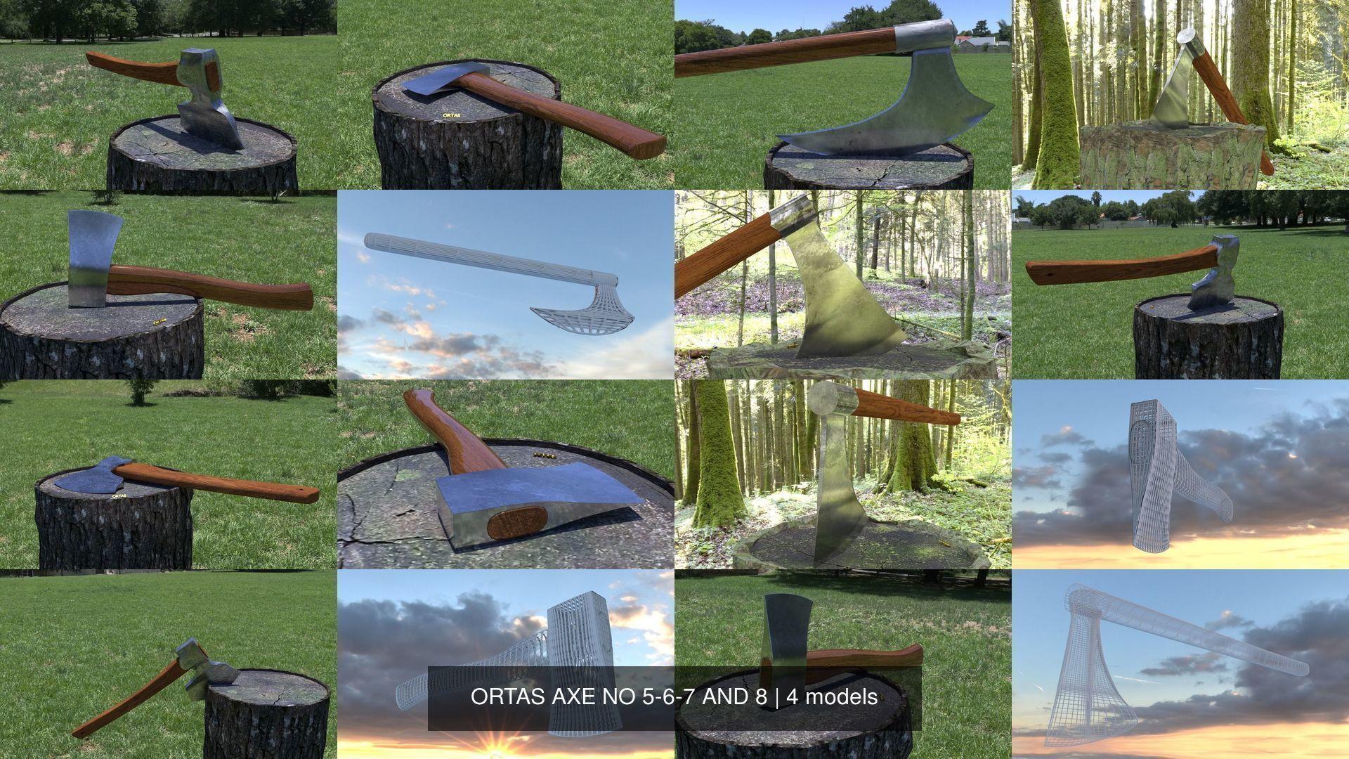 ORTAS AXE NO 5-6-7 AND 8