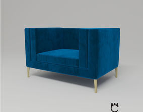 Armchair Elegance from Paolo Castelli - Design by 3D 1