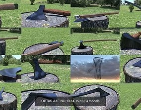 3D model ORTAS AXE NO 13-14-15-16