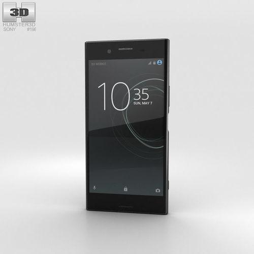sony xperia xz premium deepsea black 3d model max obj mtl 3ds fbx c4d lwo lw lws 1