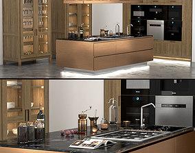 Italiana Arclinea Kitchen 3D