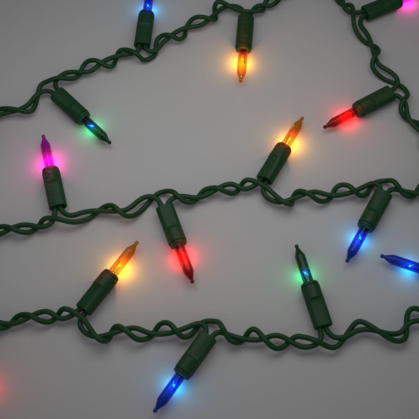 Model Strings Christmas Lights