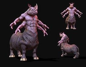 Warrior Rhino 3D model