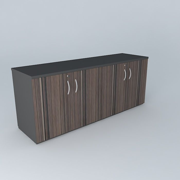 Adesivo De Anticoncepcional ~ Armario baixo cabinet free 3D Model MAX OBJ 3DS FBX STL