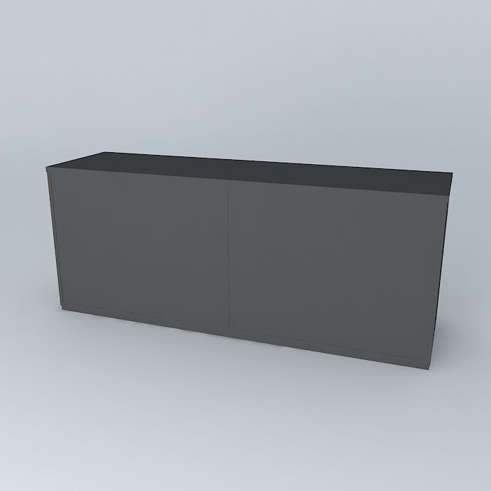 Adesivo De Anticoncepcional ~ Armario baixo cabinet free 3D Model max obj 3ds fbx