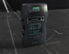3D asset Gas Detector
