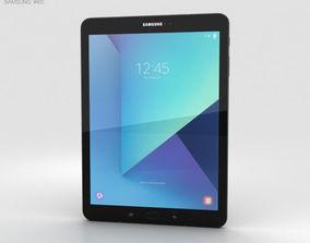 3D Samsung Galaxy Tab S3 9-7-inch Black