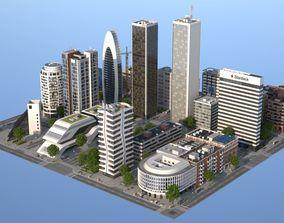 White City 2 3D model VR / AR ready