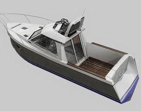 Boat Low Poly 3D model