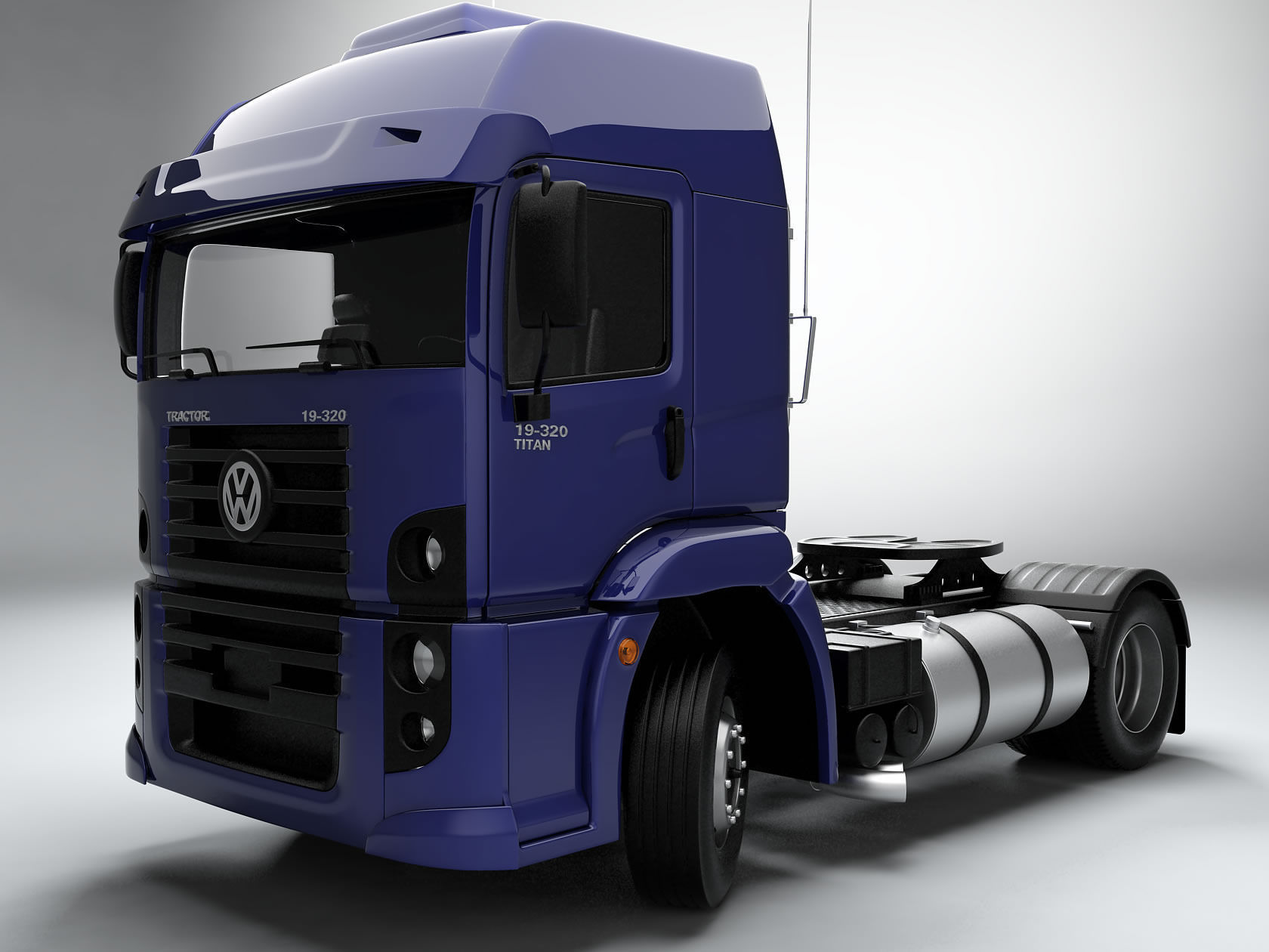 Big Truck Trader >> Volkswagen Constellation 3D Model .max .fbx - CGTrader.com