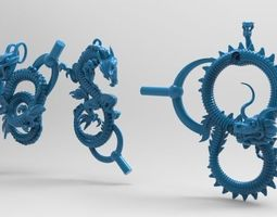 3d printable model dradon style 7 for print