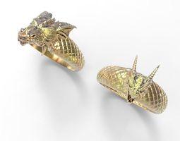 dragon ring 3d print model