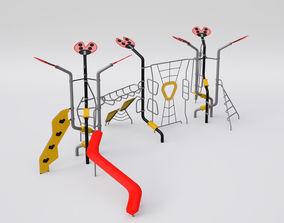 Ladybird Playground set 2 3D