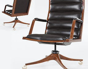3D model Executive desk chair by Edward Wormley