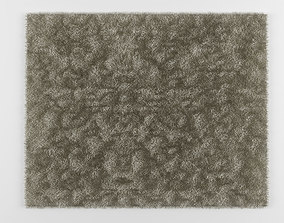 carpet with long pile 3D model game-ready