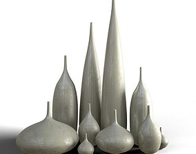 Vases generic 3d
