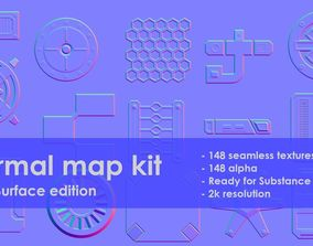 3D Normal map kit Hard Surface edition