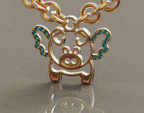 Pig piggy 2019 3D printable model