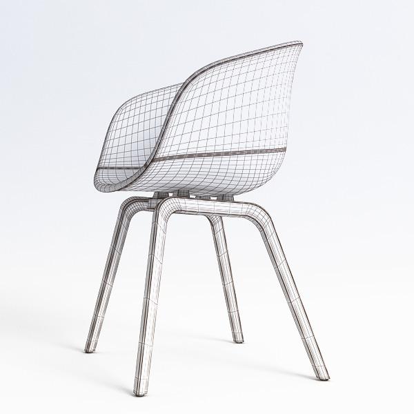 35k 2 description comments 3 aac22 chair 3d model aac22 hay. Black Bedroom Furniture Sets. Home Design Ideas