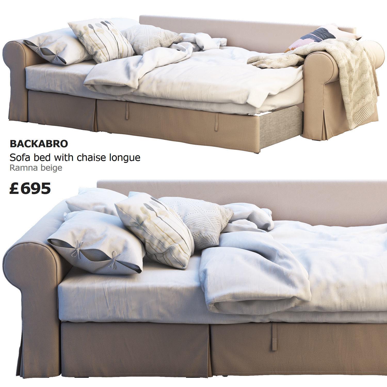 Incredible Ikea Backabro 3 3D Model Uwap Interior Chair Design Uwaporg