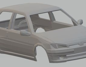 tamiya Peugeot 106 Printable Body Car