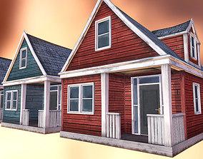 Abandoned Houses 01 3D model
