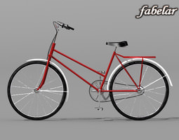 3D Bicycle standard materials
