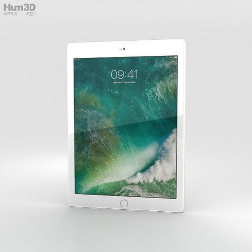 apple ipad 9-7-inch cellular gold 3d model max obj mtl 3ds fbx c4d lwo lw lws 1