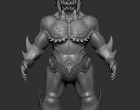 animated Character figure monster fantasy 3D print model