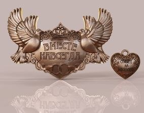 3D printable model Jewelry lock love