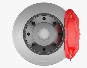 Disc Brake Car 3D