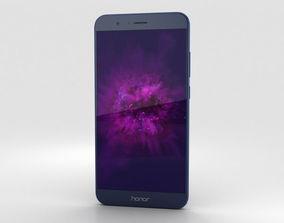 Huawei Honor 8 Pro Blue 3D