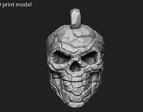 Skull Rock Pendant vol 1 3D printable model