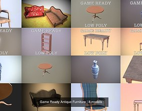 Game Ready Antique Furniture 3D