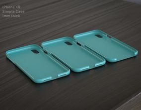 3D printable model plastic IPhone XR Case
