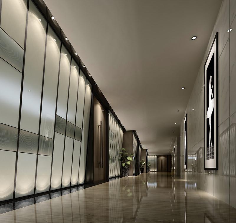 Corridor 3d model - Schilderij model corridor ...