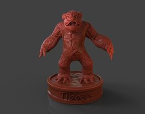 Tibbers Fan Art 3D print model