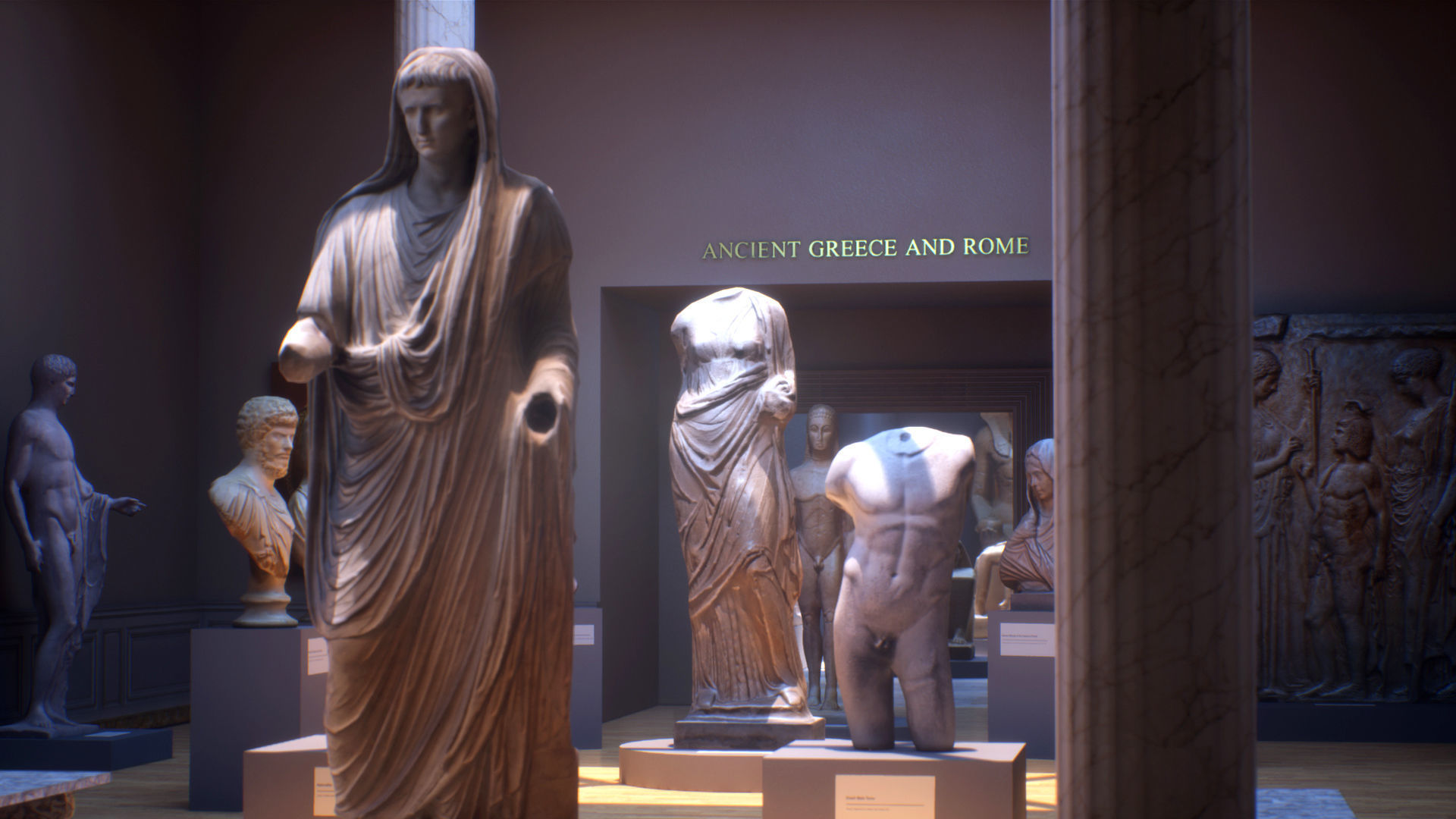- UE4 - Museum VR Vol I Ancient Greece and Rome | 3D model