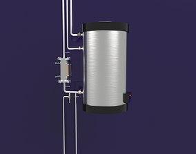 3D model Water heater Boiler