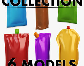 DoyPack Packaging collection volume 1 3D model