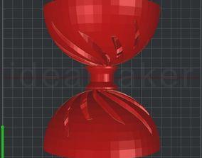 3D printable model Spiral Diabolo