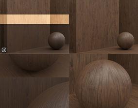 Wood material veneer slab seamless 3D model