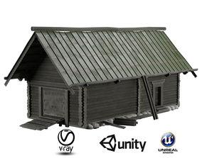 3D model RusHouse02